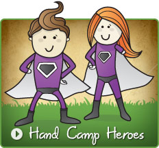 Hand Camp Heroes